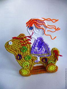 """Детская ручной работы. Ярмарка Мастеров - ручная работа. Купить декор интерьера """"Купила мама мне коня.."""". Handmade."""