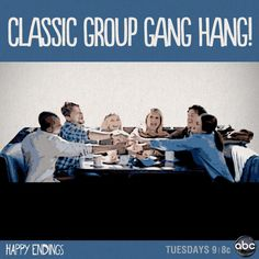 Happy Endings Hilarious, Funny, Happy Endings, I Miss You, Favorite Tv Shows, Nerd, It Cast, Entertaining, My Love
