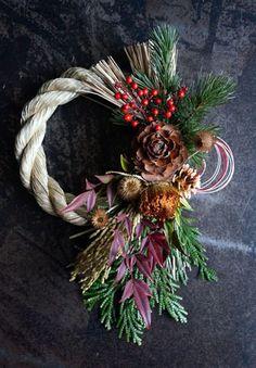 Christmas Wreaths, Xmas, Ohana, Dried Flowers, Flower Art, Floral Arrangements, Bouquet, Gardening, Holiday Decor