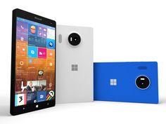 New Windows 10 Smartphones: Lumia 950 and 950 XL Windows 10, Windows Phone, Microsoft Lumia, Iphone App Development, Smartphone Reviews, Android, Gaines, New Gadgets, Microsoft Surface