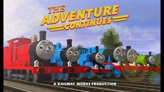 THE ADVENTURE CONTINUES - FULL FEATURE LENGTH SPECIAL - THOMAS & FRIENDS Thomas The Tank, Thomas And Friends, Engine, Magic, Adventure, Movies, Girlfriends, Motor Engine, Films