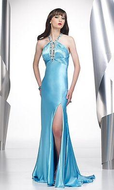 light sky blue dress