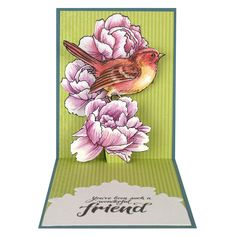 Stampendous - Cutting Die - Bird Blossom Die Cut Set