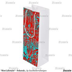 Get full colour gift bags from Zazzle. Each one of our gift bags is decorated with fantastic designs, images or artwork. Gift Bags, Kiwi, New Product, Bloom, Lifestyle, Artwork, Gifts, Design, Products