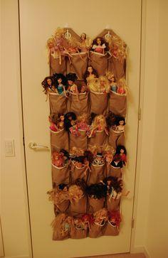 organize barbies