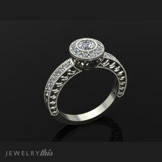 Image for 1367-30287 https://www.jewelrythis.com/shop/engagement/engagement-ring-antique-style-1367-30287/