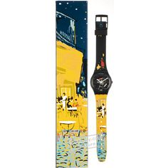 db529f01abe Swatch The Originals GB161C Terrace of a cafe at night by Van Gogh watch
