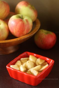 """Homemade Apple Pie Filling. """"Just like those canned pie fillings you buy at the store except fresher and without the extra preservatives."""""""