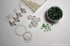 Maschenmarkierer DIY ~ How to make your own stitch markers
