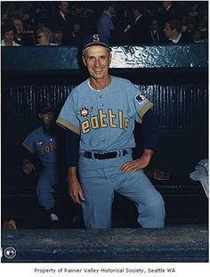 1969 Seattle Pilots. Roads? Major League Baseball Teams, Sports Baseball, Sports Teams, Baseball Cards, Mlb Uniforms, Baseball Pictures, American League, National League, Seattle Mariners