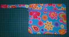 Fully Lined Front Zippered Pouch Tutorial