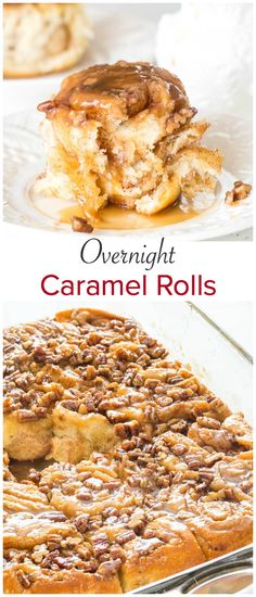 Irresistibly soft and fluffy overnight caramel rolls, soaked in luscious butterscotch sauce. The best way to start the weekend! Irresistibly soft and fluffy overnight caramel rolls, soaked in luscious butterscotch sauce. The best way to start the weekend! Brunch Recipes, Breakfast Recipes, Dessert Recipes, Breakfast Ideas, Sweet Breakfast, Caramel Rolls, Caramel Dip, Caramel Candy, Butterscotch Sauce