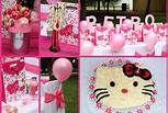 Hello Kitty Party Collage Hello Kitty Party: DIY Ideas