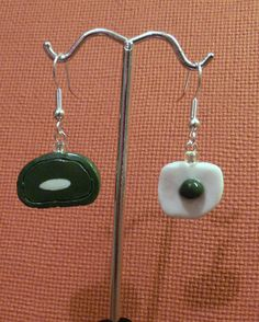 I do like these green eggs and ham. I do, I do! #Earrings #jewelry #Seuss