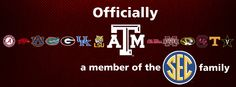 DAY 14: TAMU Texas is officially SEC country! Check out our other Pinterest boards to learn more about Aggie traditions, the Texas A campus, gameday at Kyle Field, & more!