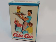 Vintage Colacao box (Pasta). Spain objects