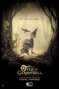 Over the Garden Wall Whoa. Former Adventure Time creative director Pat McHale's Cartoon Network mini-series, Over the Garden Wall, is available on iTunes. The whole thing. In HD. For $9.99. Buy early and often.