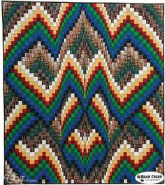 Bargello-Quilts in Motion by Ruth Ann Berry (C and T Publishing)