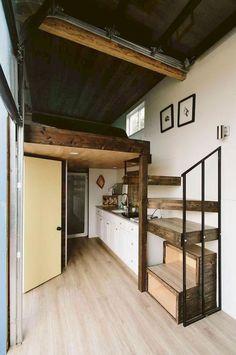 51 Genius Loft Stair for Tiny House Ideas