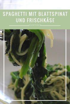 Hmm Pasta & Spinat - das neue Traumpaar am Rezepthimmel: http://www.dilavskitchen.de/spaghetti-mit-blattspinat/  #pasta #spinat #spaghetti #nudeln