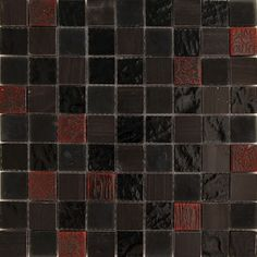 Florence Italia Series Embossed Marble Grey Glass Mosaic Tile