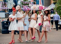 30 something urban girl: Elegant outfits on day two of Royal Ascot ...
