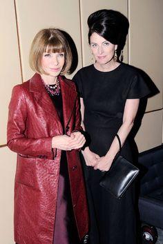 Anna Wintour and Marina Rust Connor
