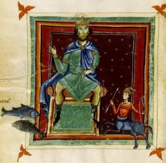 "Giove in domicilio in Sagittario e Pesci. Miniatura dal ""Liber Astrologiae"" di Georgius Zothorus Zaparus Fendulus, XIII sec."