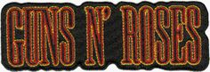 Nirvana Album Cover, Square Deal, Band Patches, Denim Jacket Patches, Guns And Roses, Name Logo, Band Logos, New Bands, Sewing Stores