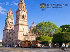 Su recorrido por Morelia. EL MEJOR HOTEL DE MORELIA. La antigua Valladolid, como antes era nombrada la capital del estado, es una ciudad que cuenta con una gran variedad de atractivos como museos, iglesias u otros pueblos a sus alrededores, para que conozca más sobre las maravillas de nuestro estado. En Best Western Plus Gran Hotel Morelia, le recomendamos disfrutar este viaje y hacer de él, una experiencia inolvidable. #bestwesternplusgranhotelmorelia
