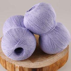 Lanas 250 g/lote lin naturel coton à tricoter dentelle Crochet fil écologique teints été fil robes main Kint laine à tricoter(China (Mainland))
