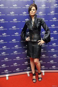Melissa Mars à la cérémonie de clôture du Festival du Cinéma et Musique de Film de La Baule le 22 novembre
