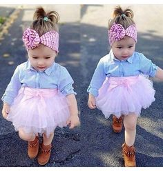 Imagem de fashion, girl, and baby