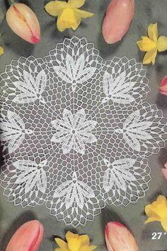 Album of albums - Crochet Clothing 2019 - 2020 Picot Crochet, Crochet Lace Edging, Crochet Doily Patterns, Crochet Borders, Crochet Art, Lace Patterns, Crochet Home, Vintage Crochet, Crochet Doilies