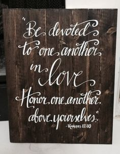 """This rustic wall art would make a great wedding or anniversary gift! It can also be used as a beautiful, elegant addition to any rustic/country chic wedding decor, then proudly displayed in your home!  Dimension Options:  14""""W x 18"""" T (shown in photo) 14W x 20T  These boards are stained with a stunningly rich, dark brown hue. High quality vinyl is used for the lettering, and a clear, satin top coat is applied to ensure years of beauty. I cut each board to size, securely bond them together…"""