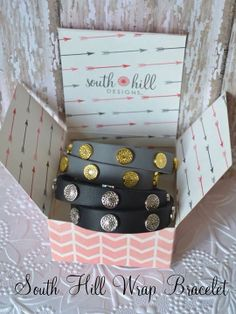 South Hill Designs leather wrap bracelets-- ALL of the style for a fraction of the price! #bracelet  #leatherwrap #southhilldesigns