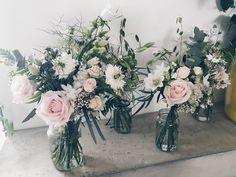 For the Bride and bridesmaids.💚💚💚 #graceandthornweddings #graceandthorn