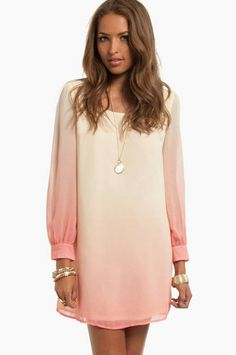 Just bought this dress! Cant wait for it to arrive <3 <3 -----  Ombrella Shift Dress $39 at www.tobi.com