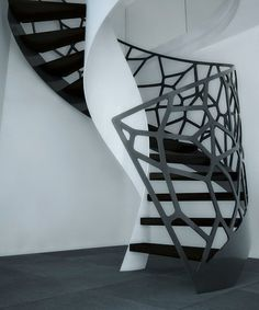 Sculptrural stair by E-stairs