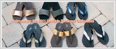 Bandals! Sandals with interchangeable bands. Allows you to have a different look easily. Love my flip flops.