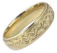 Celtic Rings for Men - Celtic Knot, Trinity Knot