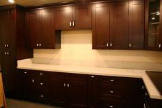 Chocolate Shaker kitchen cabinets | BestOnlineCabinets.com
