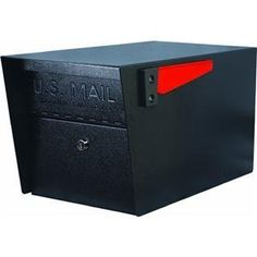 Mail Boss 7506 Mail Manager Locking Mailbox by Mail Boss. $136.07. Provides ultimate mail security, and keeps you safe from mail identity theft. An exclusive patented anti-pry latch locking mechanism prevents leveraged entry. Features 14-gauge to 16-gauge electrogalvanized welded steel, high security lock, 3 keys, and package bin mailer. Full service, large capacity curbside locking security mailbox. Locking access door with commercial grade high security wafer lo...