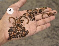Mehndi Designs For Kids, Finger Henna Designs, Mehndi Designs Feet, Stylish Mehndi Designs, Latest Mehndi Designs, Henna Tattoo Designs, Mehndi Desine, Heena Design, Black Henna