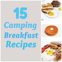 Awesome #camping #recipes for #breakfast. I love the Mountain Man Skillet!