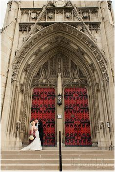 Sarah & Michael's wedding at Heinz Chapel