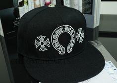 Demon World Chrome Hearts Unisex baseball snapback cap CH Logo & Cross embroidery