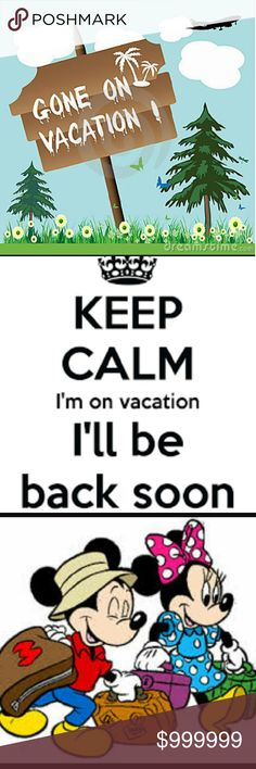 On Vacation.  Won't Be Long.  Nov. 30 will return Vacation dates;October 27, 2016 thru                                 October 30, 2016 Will be back open on November 1, 2016 Other