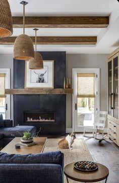 // m e t a l Home Living Room, Living Room Designs, Living Spaces, Living Room Decor Grey Couch, Living Room Themes, Living Room Lighting, Home Interior Design, Interior Decorating, Interior Home Decoration