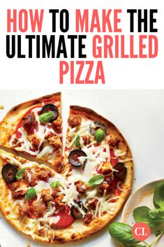 If you've got adventurous palates in the family, punch up the flavor of these personal pizzas with a dash of red pepper flakes and briny kalamata olives. Add a veggie- forward side, like a simple salad or roasted broccoli. Cooking For A Crowd, Cooking 101, Cooking Light, Healthy Food Options, Healthy Recipes, Menu Maker, Personal Pizza, Grilled Pizza, Easy Salads